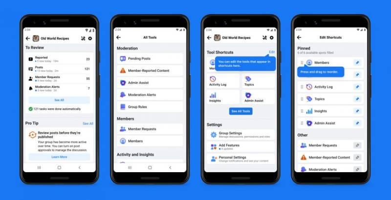 Facebook Adds AI Moderator Tool To Help Group Admins