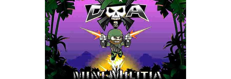 Download Doodle Army Mini Militia Mod APK Version 5.3.2